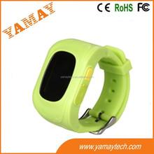 smallest size wrist watch GPS & LBS location gps tracker kids with longest standby-Caref watch