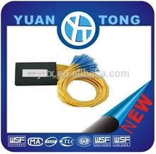 Cassette Type 1 x 16 1x8,1x32,1x64SC UPC SM Fiber Optic PLC Splitter1x2 plc splitter