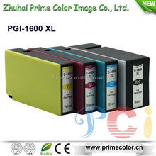 2015 New products Compatible Ink Cartridge PGI-1600 XL for Oceanica Market