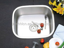 5245A stainless steel 304 single bowl for Cabinet and kitchen sink