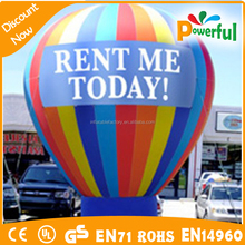 Hot sell cheap inflatable stand balloon,advertising balloon,inflatable big ballon