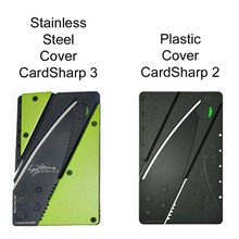 Credit Card Knife for Iain Sinclair Cardsharp 3, Stainless Steel Cover, Authentic Folds for Easy Concealment and Safety has High