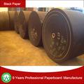 La fabricación de papel negro