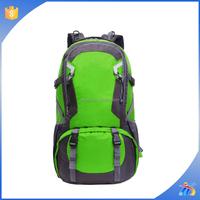 2015 Waterproof durable hiking backpack bag with rain cover