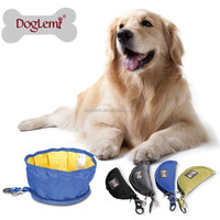Trade Assurance free shipping Folding Travel Dog Bowl/Portable wholesale Folding Dog Bowl