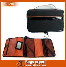 microfiber foldable multi functional mirror toiletry bag