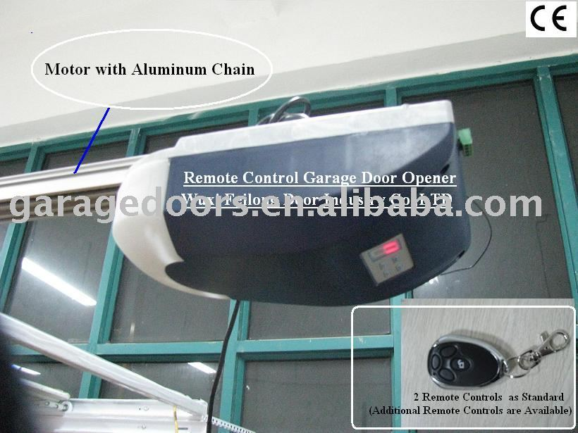 Remote control electric garage door opener buy electric for Electric motor garage door opener