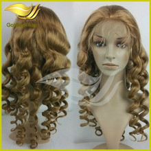 popular fashion new style best quality curly wigs for white women