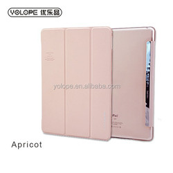 YOLOPE high quality sale flip folding leather case for iPad air