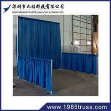 new hot selling fancy luxurious pipe and drape curtains for exhibition/ stage decor