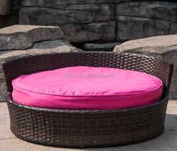 2015 New design Garden luxury pet chair/dog bed