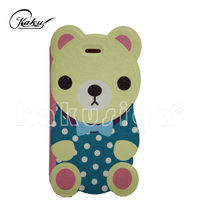 cartoon mobile flip cover for samsung note 2 case