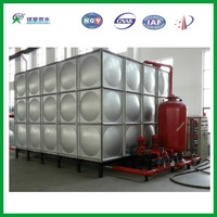 Big Stainless Steel Water Tank for Fire Control