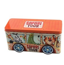 China supplier exquisite safety car shape tin, car toy tin box