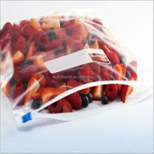 Strawberry packaging factory T&L Brand manufactured plastic slider storage bag made from food grade material