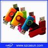 hot selling metal swivel usb flash drive 8gb with full capacity