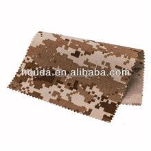 super strong desert camouflage 1000D nylon cordura fabric waterproof nylon camouflage cordura fabric for military bags