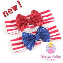 Wholesale elastic hair bands hair accessories baby headband fitness headband for make up