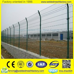 PVC coated fence panel,temporary fence panel,welded wire mesh fence