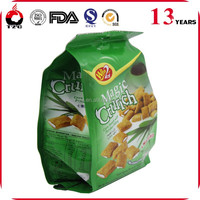 heat seal aluminum foil gusset bags packing for food