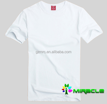 Sublimation adult cotton T-shirt,blank t shirt for heat transfer 180g