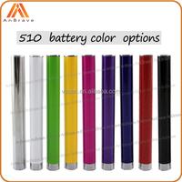 Slim design bud touch 280mAh cbd oil vaporizer battery