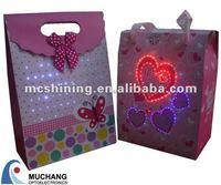 Alibaba express wholesale led paper bag manufacturer