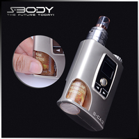 hot selling S-CA3 electroni smoking vaper mod with 510 RDA and max vapor electronic cigarette