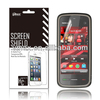 Touch screen protector film for mobile phone for Nokia 5230 oem/odm