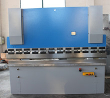 WC67Y series 63tons 2500mm length iron metal bender machine for sale