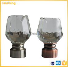 popular style crystal hardware factory curtain rod