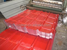 Color corrugated metal/Iron steel sheet for roofing panel