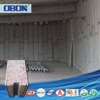 OBON foam board insulation marble look wall panel