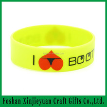 Wholesale silicone bracelet /silicone wrist band rubber