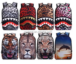fashion animal pattern beautiful fancy bags for kids