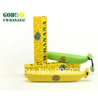 Новинка три складной qute портативных дождь бананов зонт для девушек женщин леди