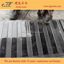 G654 Padang dark granite blind paving stone