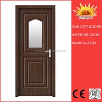 Unique free six door mdf interior doors SC-P032