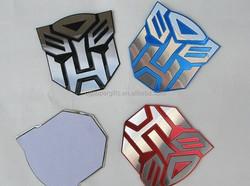 Transformers 4 Autobots car badges sticker, Transformers car emblem with 3M adhesive