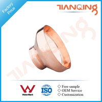 T501 Factory price pipe fitting copper concentric reducer