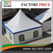 100% Waterproof gazebo tenda 6x6 with customzies sides