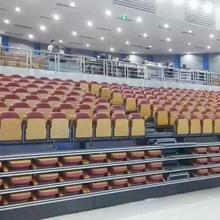 Sport facility portable telescopic stabilizing grandstand chair