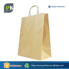 Customize Shopping Kraft Paper Craft Bag