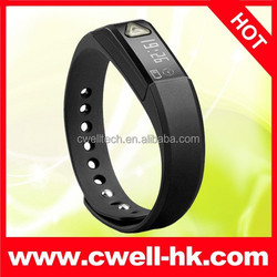 New Product Wholesale TW022 Cheap Custom Silicone Smart Bluetooth Bracelet Health Parameters Including Step Calorie
