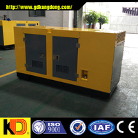 China high quality soundproof diesel genset engine by cummins 125kva