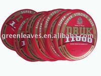cardboard paper babel for beer label