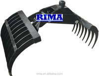 cheap mini hay grapple/ hay fork /hay gripper for tractor