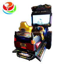 3D Video racing car game console machines