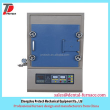 PID control high temperature nitrogen gas muffle furnace for sale with CE certificated
