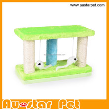 2015 New Sisal Scratch Cat Tree Scratching Toys for Cat Products